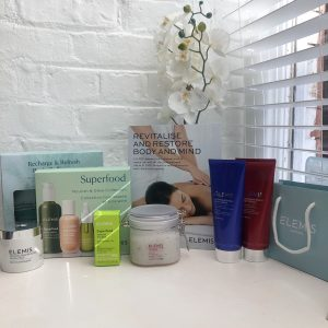 Elemis at Beauty and Bubbles in Manchester